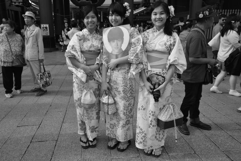 Taiwanese Girls in Tokyo